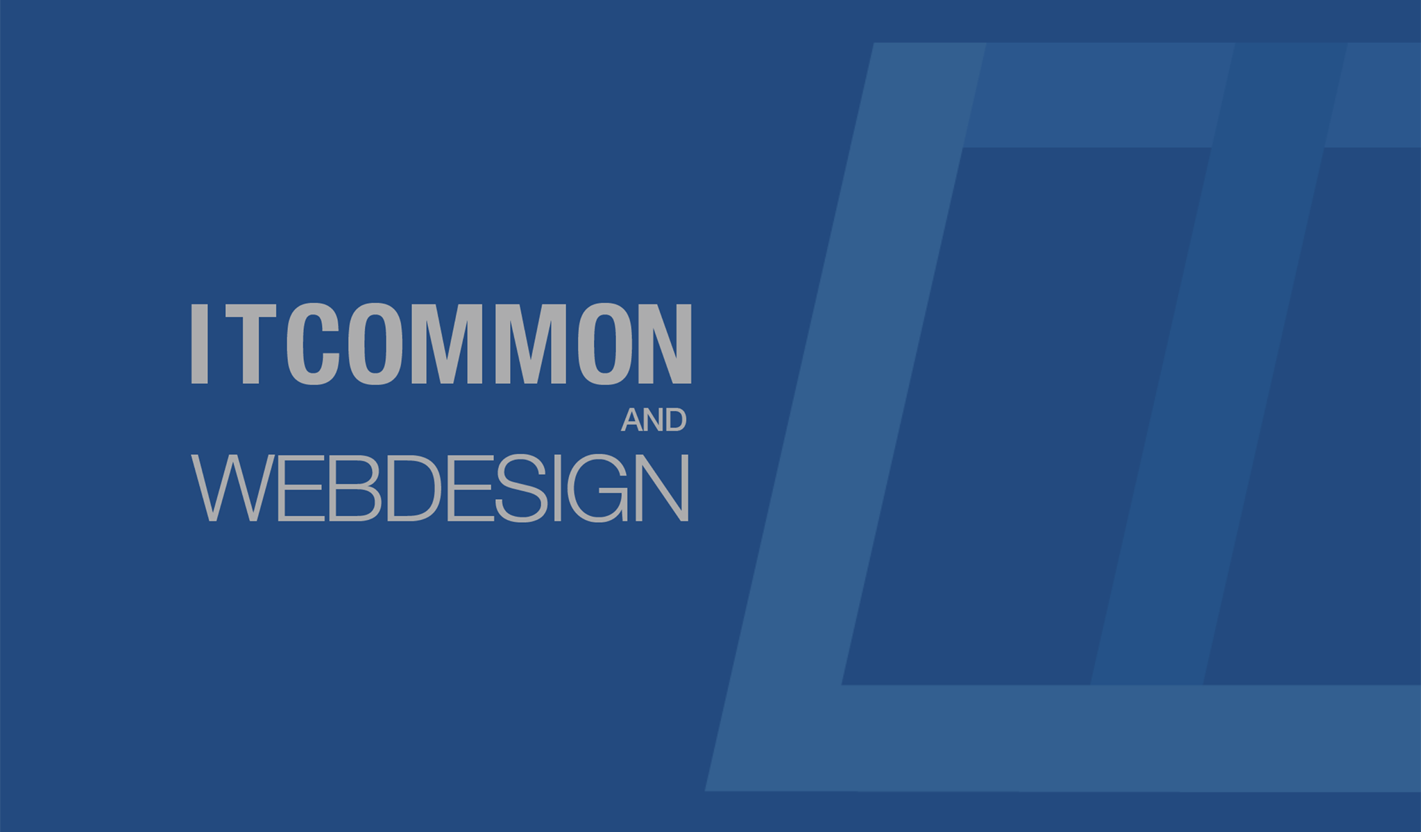 ITCOMMON AND WEBDESIGN